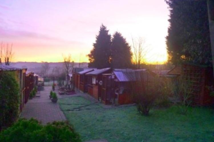Sunrise over Almora